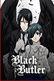 Black Butler Coloring Book: Kuroshitsuji coloring book For Anime Fans