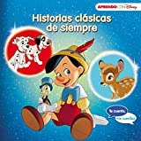 Historias clásicas de siempre (Te cuento, me cuentas una historia Disney): 101 Dálmatas, Pinocho y Bambi