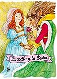 La Bella y la Bestia: 16 (Troquelados clásicos)