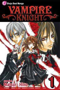 manga de vampire knight