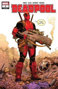comic de deadpool